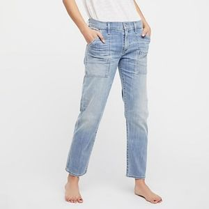 Citizens of Humanity Leah Cargo Cropped Jeans 31